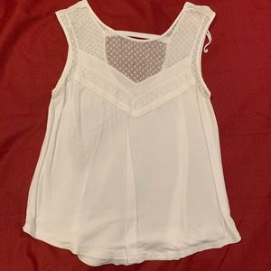summery white blouse/tank!!